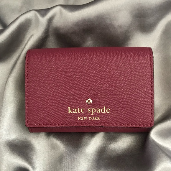 kate spade Handbags - Kate Spade 🌷 Mikas Pond Christine Leather Wallet